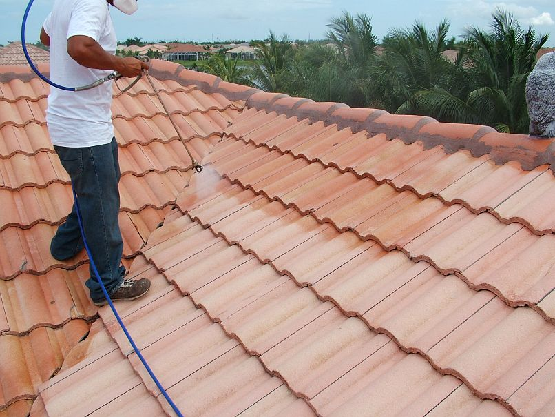 Captivating Roof Cleaning U0026 Sealing | Wash Nu0027 Seal   Miami Pressure Cleaning And Paver  Sealing   Residential And Commercial