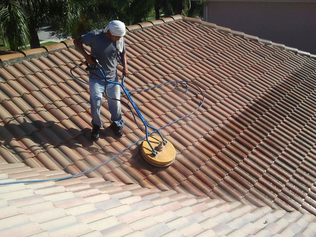 Roof Cleaning Amp Sealing Wash N Seal Miami Pressure